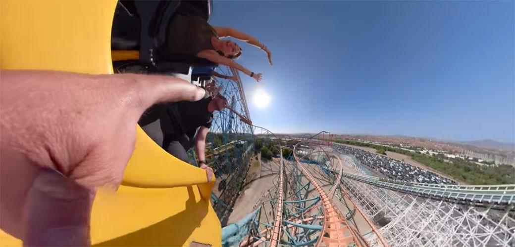 Neverovatan snimak sa Rollercostera