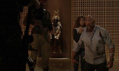 Dwayne Johnson u filmu Neboder  %Post Title