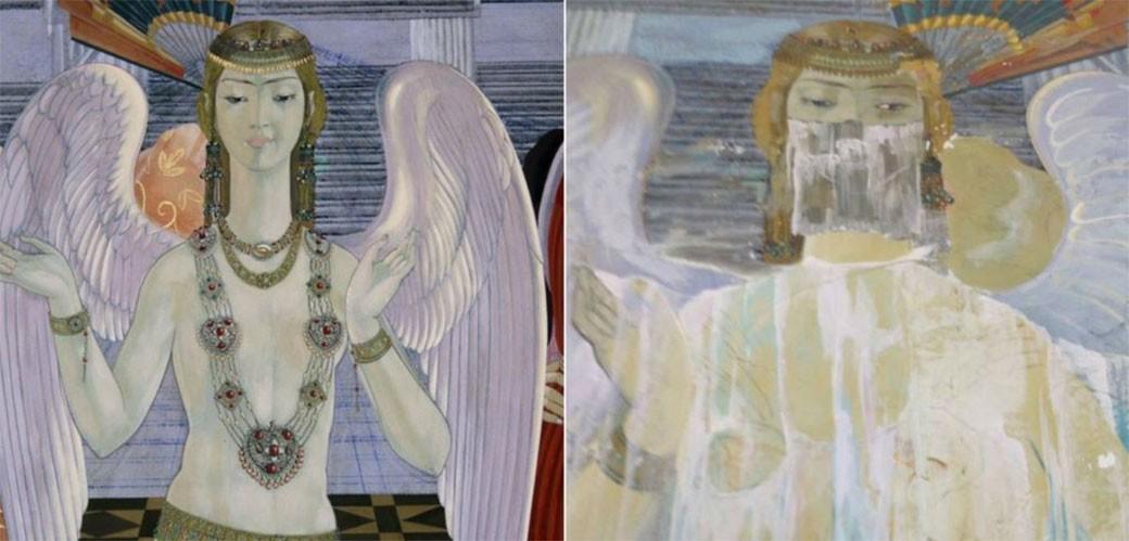 Uzbekistan: Obukli polugolog anđela
