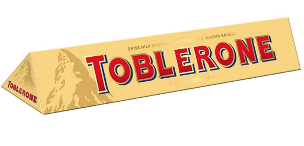 Toblerone vraća stari oblik i težinu