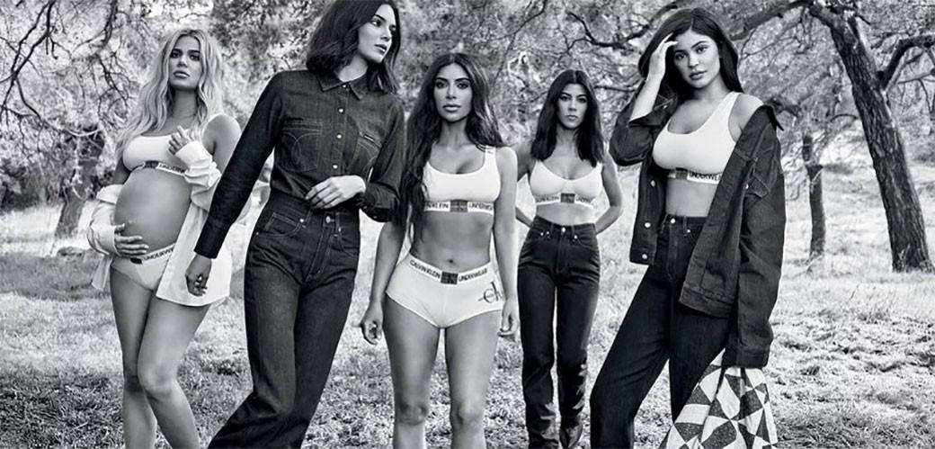 Sestre Kardashian za Calvin Klein