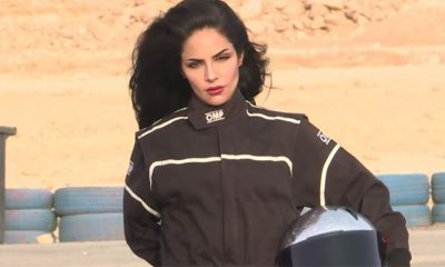 Saudijka pali gume na trkačkoj stazi  %Post Title