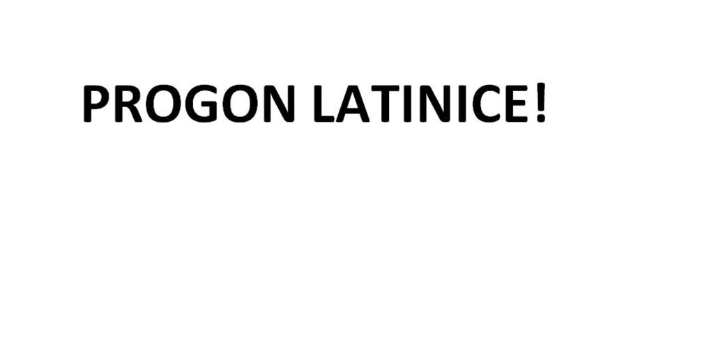Ovo je progon latinice, a ne čuvanje ćirilice