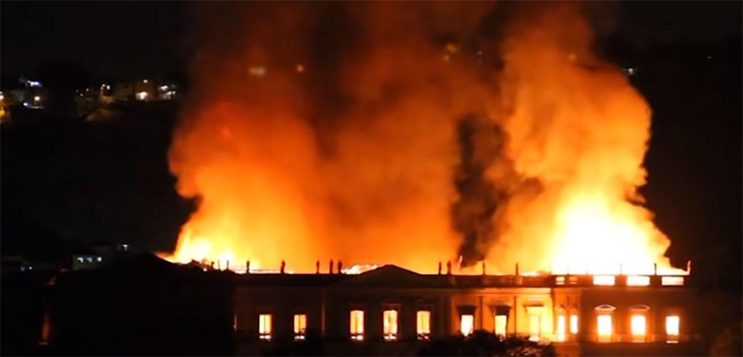 Tragedija: Nacionalni muzej u Brazilu je izgoreo