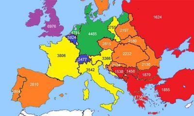 Koje Zemlje u Evropi su bile najbogatije 1890.  %Post Title
