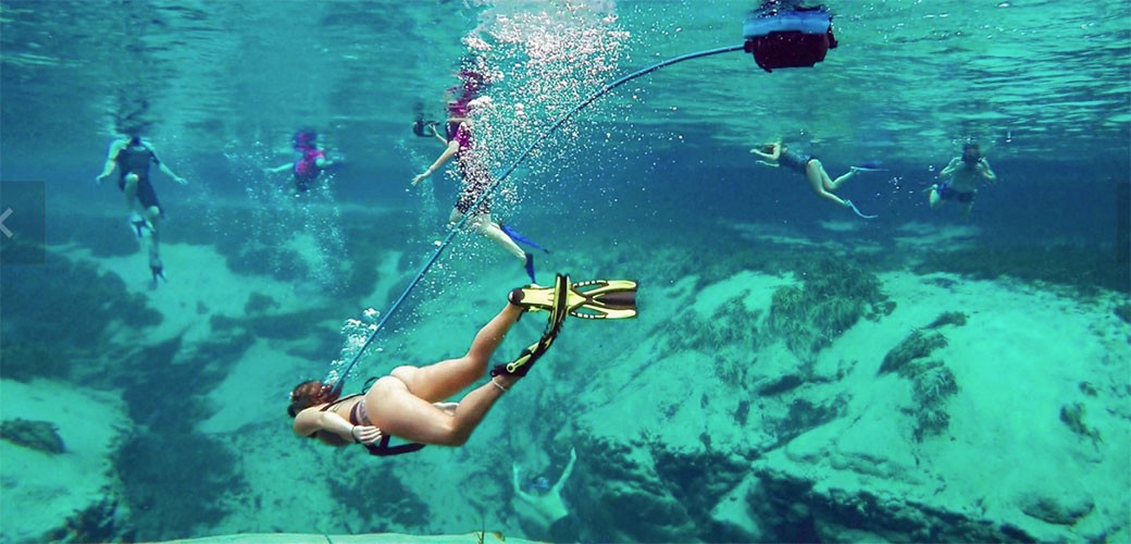Gedžet za ronjenje bez skupe opreme