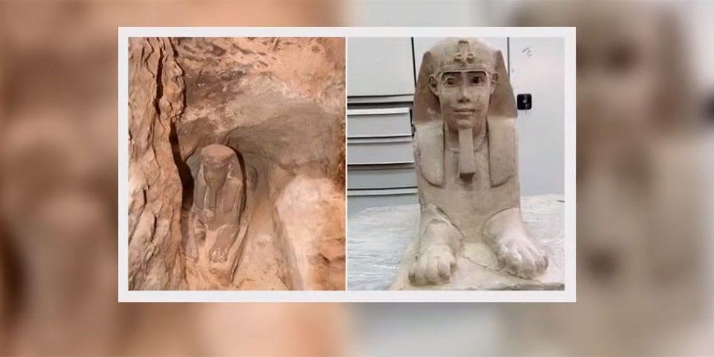 Arheolozi slučajno otkrili novu sfingu