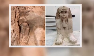 Arheolozi slučajno otkrili novu sfingu  %Post Title
