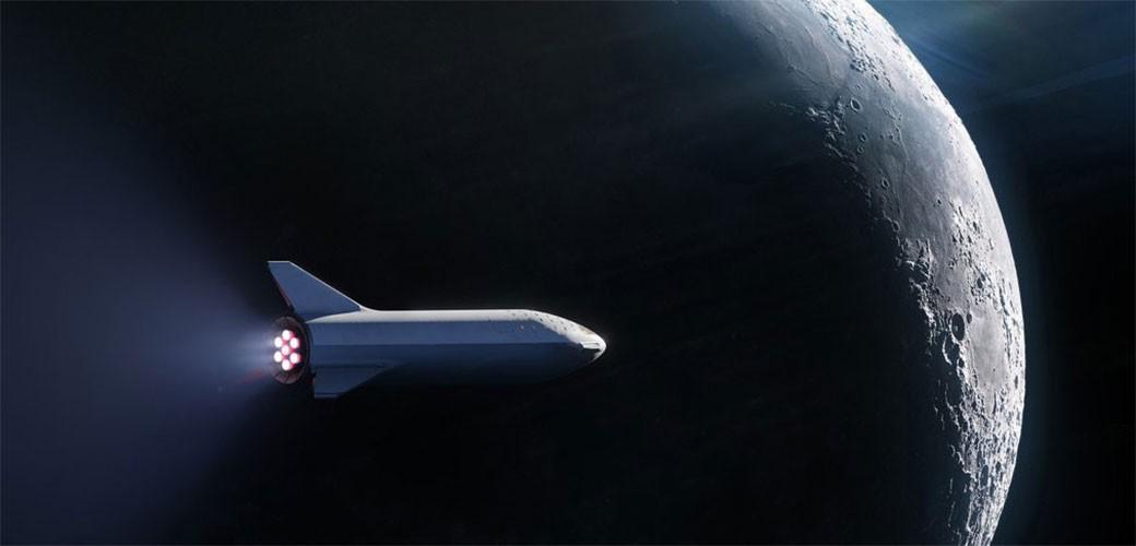 SpaceX šalje Japanca na TAMNU stranu Meseca