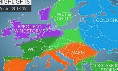 AccuWeather objavio dugoročnu prognozu za zimu 2018 - 2019.