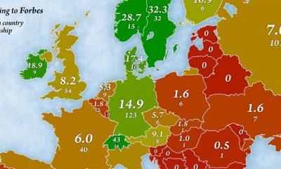 Koliko ima milijardera u Evropi