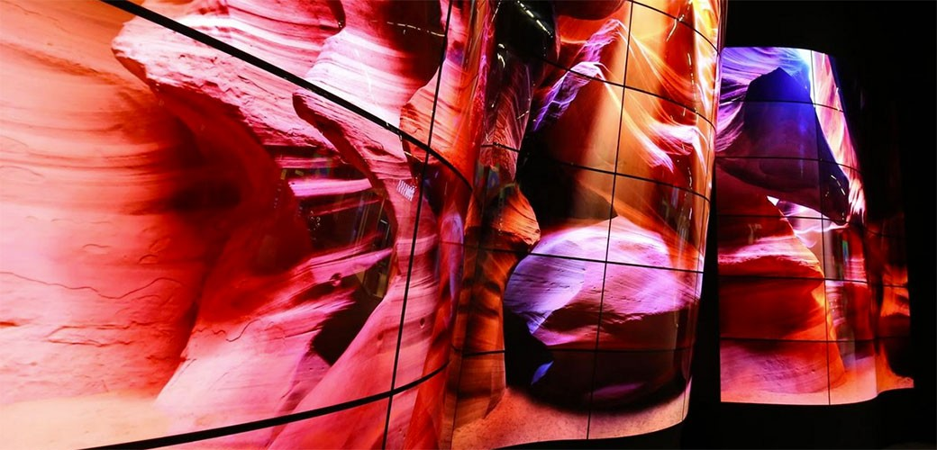 LG predstavlja fleksibilni OLED Open Frame displej