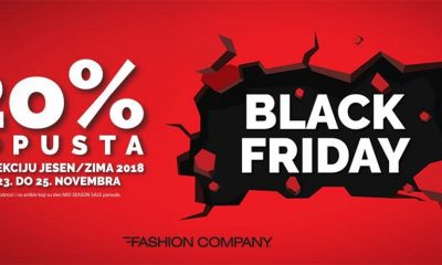 Black Friday Weekend u Fashion Company