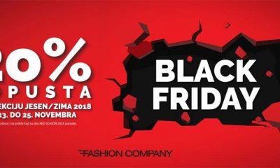 Black Friday Weekend u Fashion Company