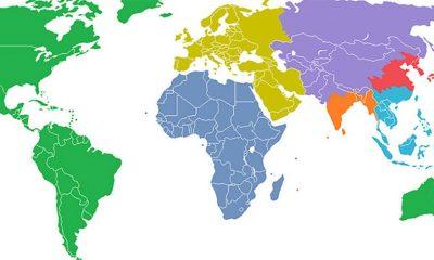 10 mapa sveta zbog kojih geografija deluje zanimljivo