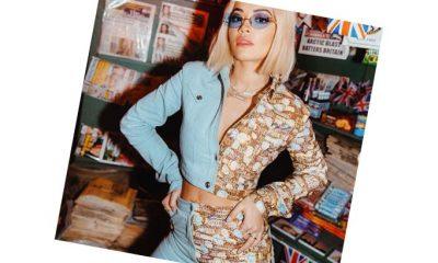 Rita Ora čudnim outfitom privlačila poglede