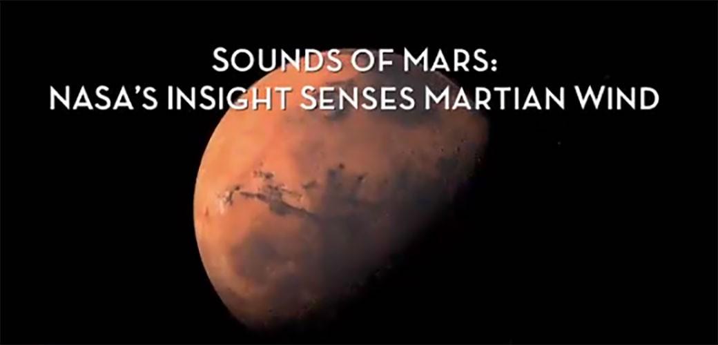 NASA objavila zvuk sa Marsa