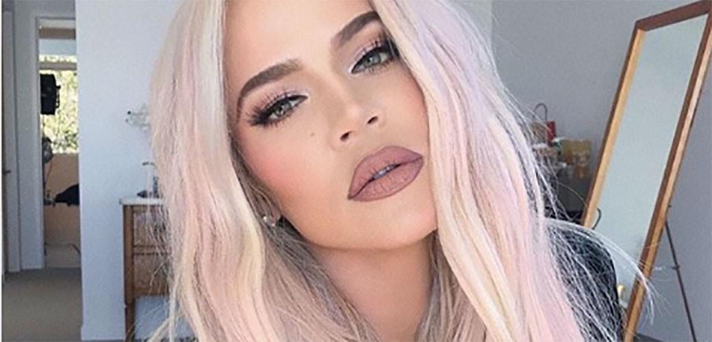 Khloe Kardashian ofarbala kosu