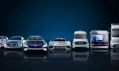 Mercedes pravi 130 električnih modela