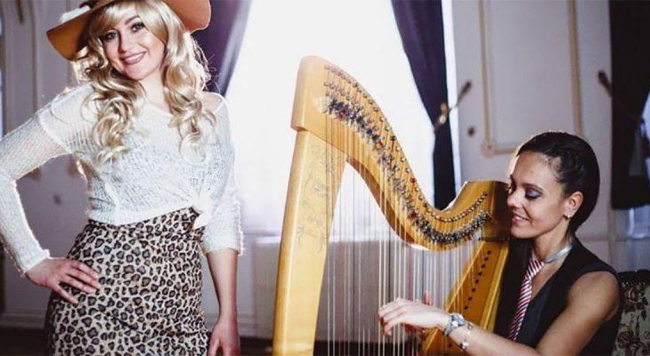 Kako Shallow zvuči na harfi?