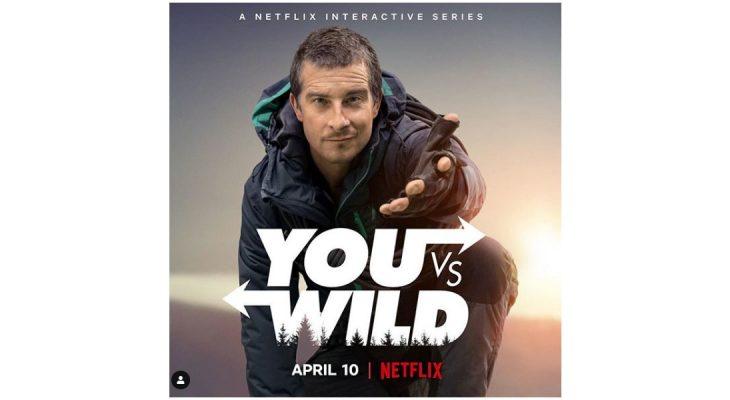 Bear Grylls i Netflix interaktivna serija