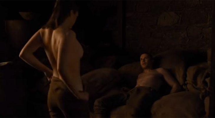 Arya Stark o sceni seksa