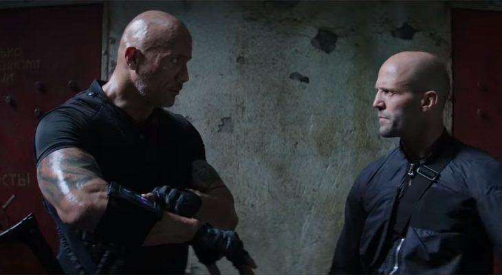Jason Statham i Dwayn Johnson u akciji