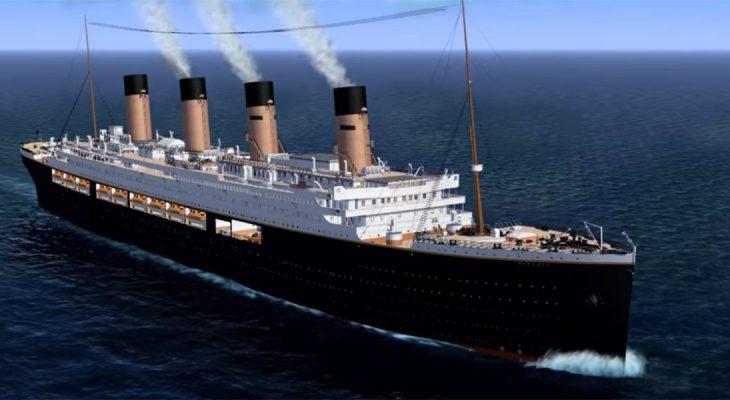из-за большого новый корабль титаник картинки фото