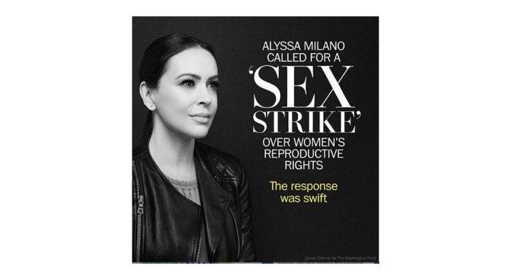 Alyssa Milano poziva na seks štrajk