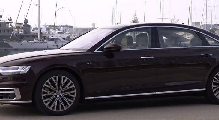 Novi Audi A8 je skoro pa živ
