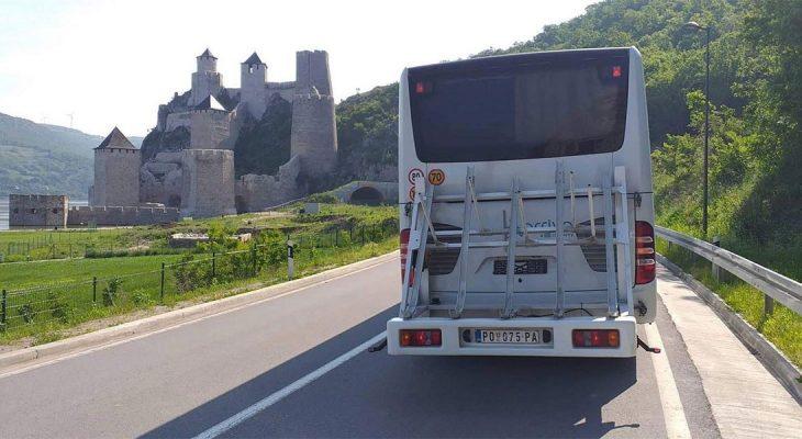 Bike autobus Kladovo - Beograd radi i na leto 2019