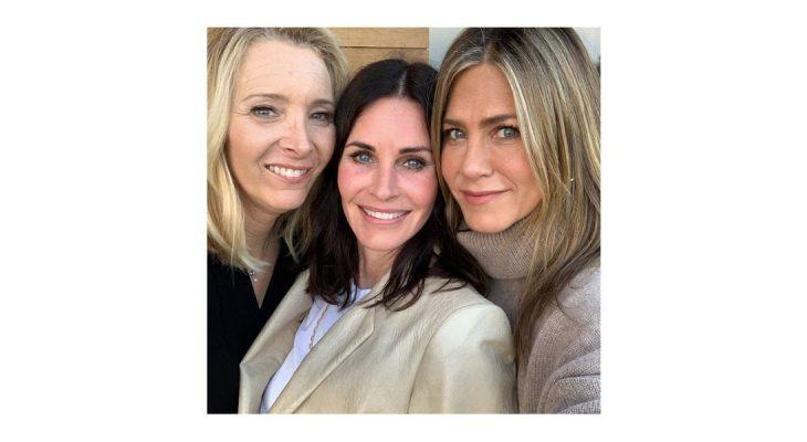 Monica, Rachel i Phoebe na istoj slici