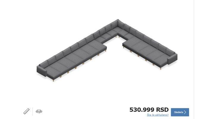Sada možete sami da dizajnirate IKEA kauč