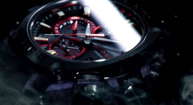 Samurajski G-Shock sat