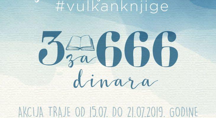 3 knjige za 666 dinara