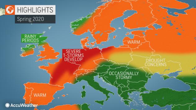 vremenska prognoza prolece 2020 srbija