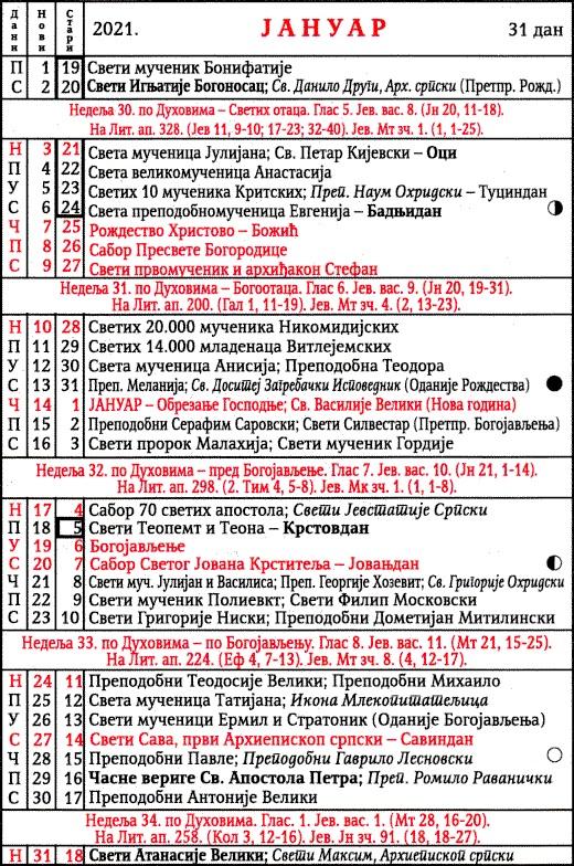pravoslavni-kalendar-2021-januar